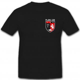 Bundeswehr Pzbtl120 Panzerbataillon 120 Wappen Abzeichen T Shirt #3544