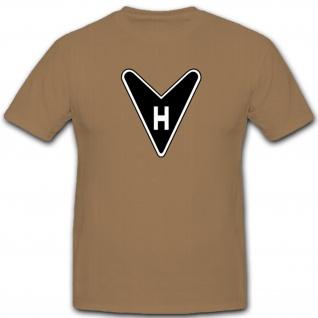 Horten Ho 229 Logo Emblem Jagdflugzeug Jet Nurflügel deutsche - T Shirt #5183
