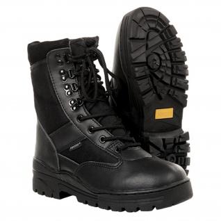 Kommando Einsatz Stiefel Tactical Springerstiefel schwarz Polizei Security#15975 - Vorschau 2