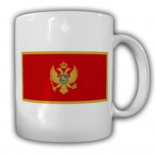 Montenegro Fahne Flagge Kaffee Becher Tasse #13809