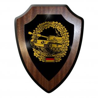 Wappenschild / Wandschild -Panzertruppe Deutschland Bundeswehr Emblem#7430