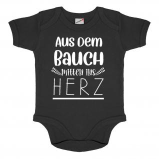 Baby Body aus dem Bauch mitten ins Herz Glück Wunder Eltern Baby Bash #34567