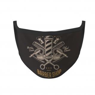 Barbershop Mundmaske Frisör Mundschutz Style Barbier Schneiden Stylen #35518
