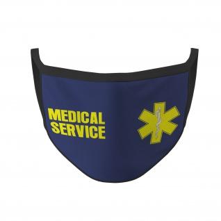 Medical Service Mund Maske Erste Hilfe Sanitäter Medic Rettungsdienst #35592