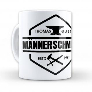 Tasse Thomas Gast Männerschmiede Kaffee Becher #36572