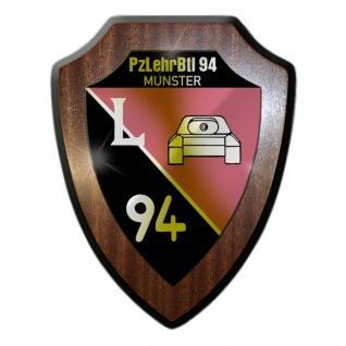 Wappenschild Panzerlehrbataillon 94 Munster PzLehrBtl BW Wappen Abzeichen #30118