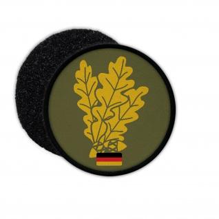 Patch / Aufnäher -Jäger Truppe Bundeswehr Deutschland Eichenblätter #12463