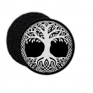 Patch Yggdrasil Weltenesche Weltenbaum 9 Welten Wikinger Aufnäher Klett #27394