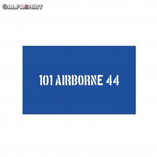 Lackierschablonen Aufkleber 101 Airborne 44 Army Fallschirmjäger 10x1, 3cm A546