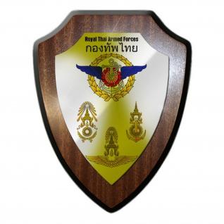 Royal Thai Armed Forces Thailändische Streitkräfte Armee Wappenschild #19935