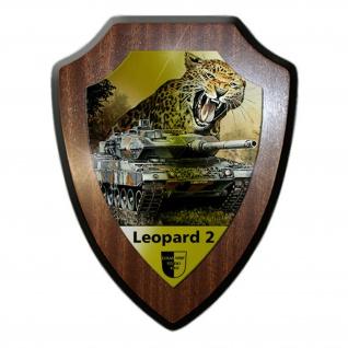 Wappenschild Lukas Wirp Leopard 2 Panzer Bundeswehr Leo 2A7 PzBtl Gemälde #23481