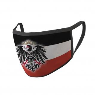 Mundmaske Deutsches-Kaiser-Reich WW1 Preußen Adler Deutschland Heimat Deutscher #34645