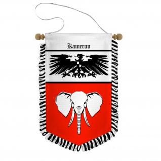 Wimpel Kamerun Deutsche Kolonie Kolonialbund Nigeria Historisch Andenken #31236