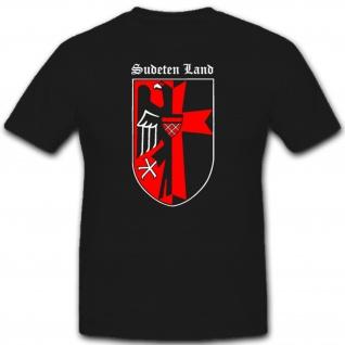 Sudetenland Adler Wappen Heimat Deutschland T Shirt #2261