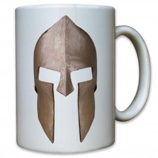 Sparta Helm 300 Spartaner Krieger Molon Labe - Tasse Kaffee Becher #11584