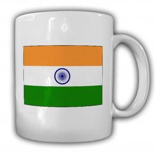 Indien Flagge Fahne Asien Kaffee Becher #13505
