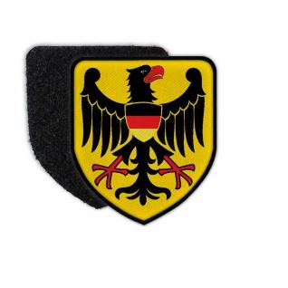 Patch Bundesadler Abzeichen Adler Bundesrepublik Wappen Emblem Einsatz #31150
