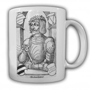 Ulrich von Hutten Erster Reichsritter Mittelalter Deutschland Tasse #13658