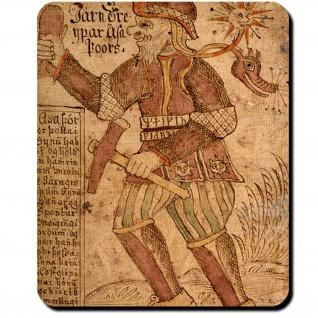 Thors Hammer Mjölnir Machtgürtel Megingiard Kriegsgott Mauspad #16094