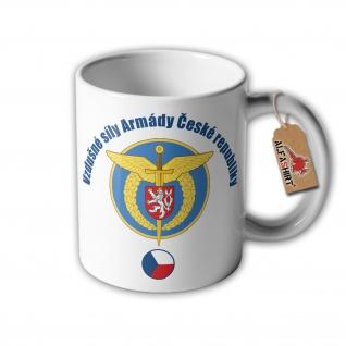 Tasse Luftstreitkräfte der Tschechischen Republik Wappen Abzeichen #32914