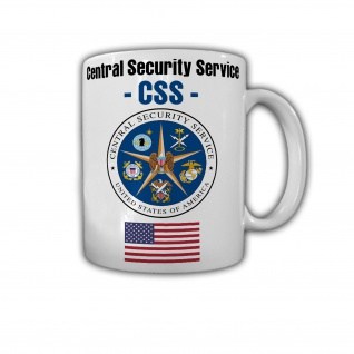 Tasse Central Security Service USA CSS NSA US Amerika Wappen Abzeichen #30236