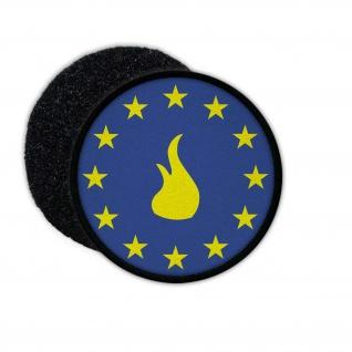 Patch Europa Feuerwehr TYP3 EU Union Aufnäher Firefighting Wappen #24642