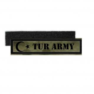 TUR ARMY Patch Aufnäher Militär Armee Türkei Türk Istanbul MAK JÖH #24707