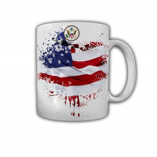 USA Flagge Amerika Stars Stripes US Army Los Angeles Fahne - Tasse #26821