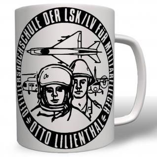 Nva Offizierschule Otto Lilienthal Militär Ddr Osten Tasse #16630