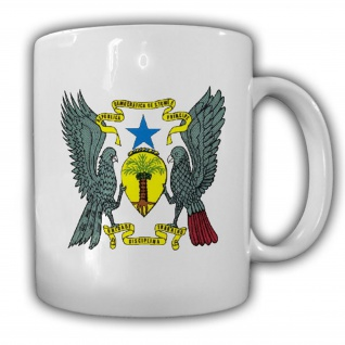 Demokratische Republik São Tomé und Príncipe Wappen Emblem Kaffee Tasse #13883