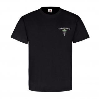 Para-Commando-Brigade Belgische Fallschirmjäger Heer Wappen - T Shirt #11222