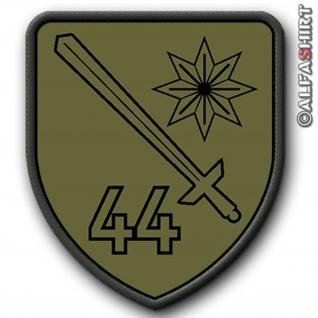 Patch / Aufnäher - PzBtl44 - Tarnvariante Wappen Militär Bundeswehr #8970