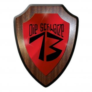 Wappenschild / Wandschild - JG 400 DIE SCHWARZE 13 Wappenschild Wandschild Jagdgeschwader Luftwaffe Wappen Abzeichen Emblem #18773