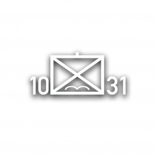 10 FschJgRgt 31 Fallschirmjägerregiment Taktische Zeichen 31x14cm#A3618