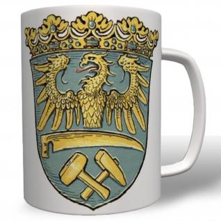 Wappen Oberschlesien Provinz Abzeichen Emblem Polen- Tasse Becher Kaffee #3954
