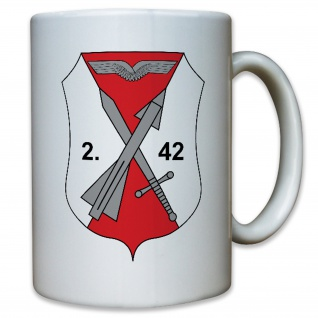 2 FlarakGrp 42 Flugabwehr Raketen Gruppe Bundeswehr Heer - Tasse #12498