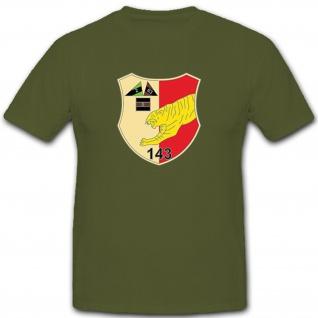 Panzer Bataillon 143 PzBtl Bundeswehr Bund Bw Militär Wappen - T Shirt #9934