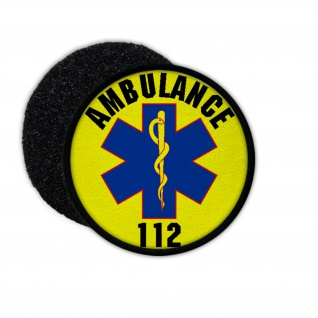 Patch Abulance 112 Emergency Medical Services Netherlands Care Government #33680