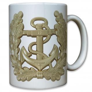 Marine Bundeswehr Bw Eichenkranz Eichenlaub Marine Bundesmarine - Tasse #9196 t