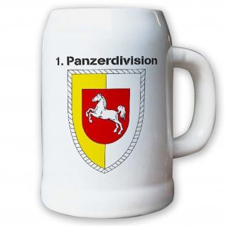Krug / Bierkrug 0, 5l -Bierkrug 1. Panzerdivision_Bundeswehr PzDiv Krug #12934