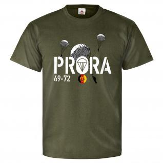 PRORA 69-72 Luftsturmregiment 40 NVA DDR Fallschirmjäger Prora - T Shirt #25774