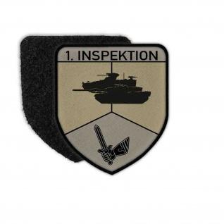 Patch 1 Inspektion Bundeswehr Uniform Panzertruppe Heeresschule Wappen #32119