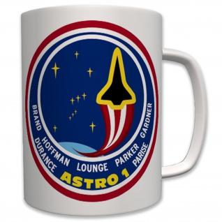 1990 space shuttle Atlantis Astro 1 - Tasse Becher Kaffee #6239