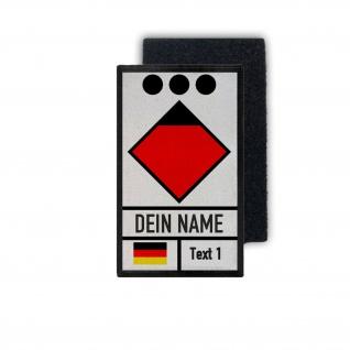 Patch Zugführer Feuerwehr Rettungswache Dienst Leitstelle Klett #35104