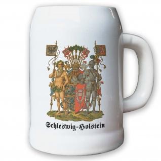 Krug / Bierkrug 0, 5l - Preußische Provinz Schleswig-Holstein Kaiserreich #9486