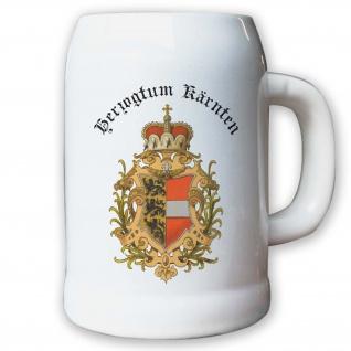 Krug / Bierkrug 0, 5l - Herzogtum Kärnten Österreich Königreich Herzog #9463