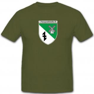 5 PzGrenBtl 332 Panzergrenadierbataillon Bundeswehr Kompanie - T Shirt #12562