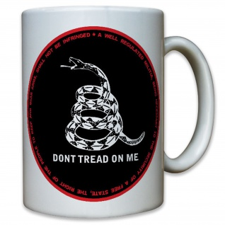 don't tread on me Pro Bewaffnung Waffenlobby Amerika USA - Tasse #10499 T