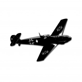Bf ME 109 Sticker Aufkleber Flugzeug Jagdflugzeug 25cm #A4954