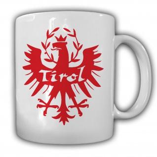 Tirol Österreich Austria Adler Abzeichen Wappen - Tasse Kaffee #13308